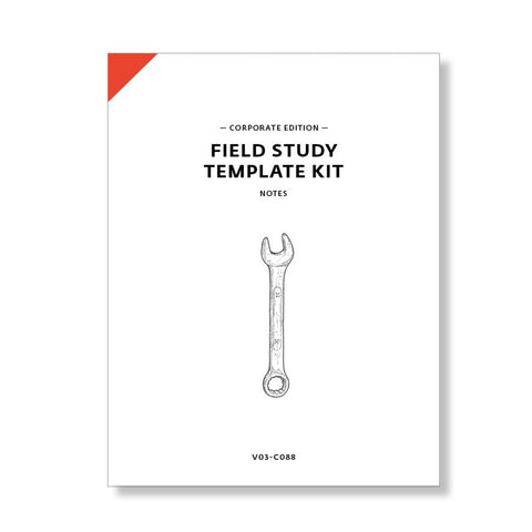 Field Study Template Kit, Corporate Edition