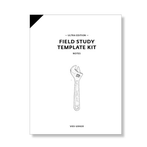 Field Study Template Kit, Ultra Edition