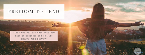 Freedom to Lead ~ Online Webinar