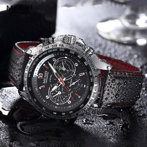 Image of Men Luxury Analog Luminous Watch