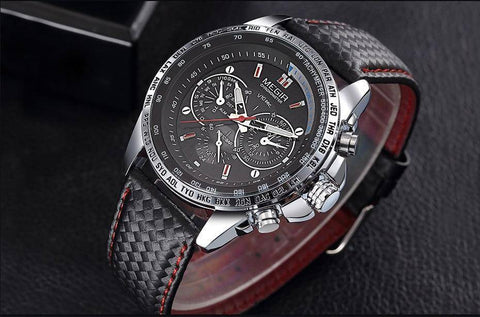 Men Luxury Analog Luminous Watch