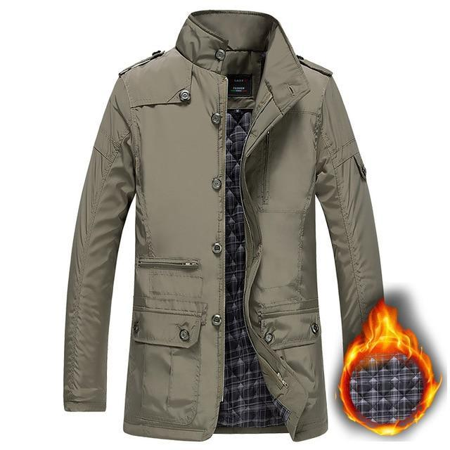 Winter Thick Padded Men Jacket