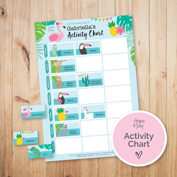 Magnetic Activity Charts