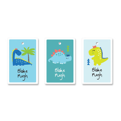 Boys Bag Tag 12 Bag Tags Angus & Izzy