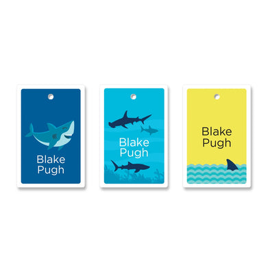 Boys Bag Tag 24 Bag Tags Angus & Izzy