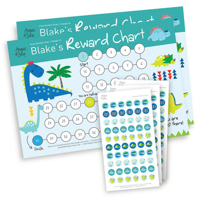 Boys Rewards Chart 04 Reward Chart Angus & Izzy