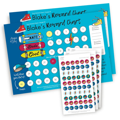 Boys Rewards Chart 05 Reward Chart Angus & Izzy