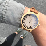 DODO DEER Natural Bamboo Wood Watches A16