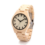 DODO DEER Natural Bamboo Wood Watches G30