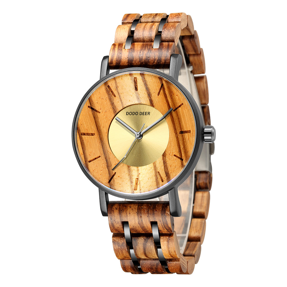 DODO DEER Natural Bamboo Wood Watches D19