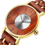 DODO DEER - Luxury Wood Stainless Steel Men Watches Style Wooden Timepieces