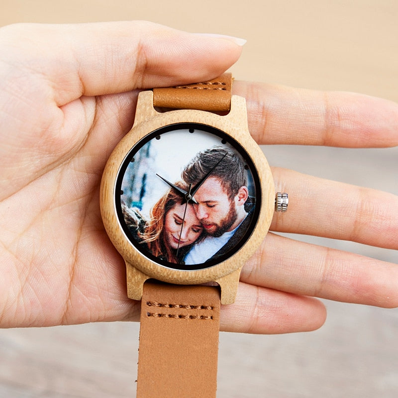 Personalized Photo Watches