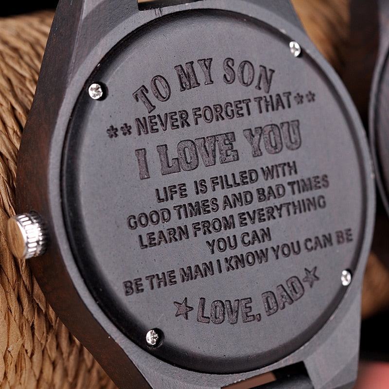 Engraving Watches Family Gifts