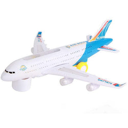 Children Smart Flashing Electric Airplane