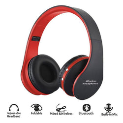 Foldable Wireless Bluetooth Stereo Bass Headphone