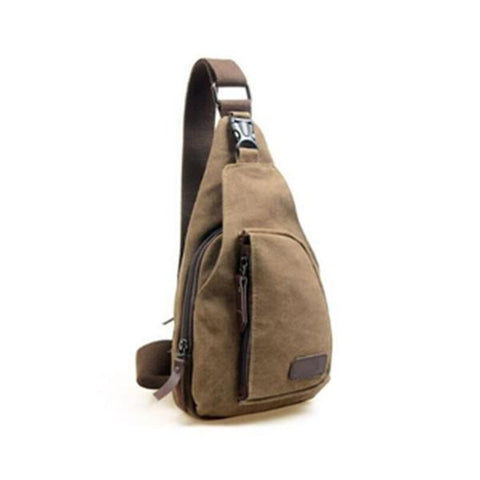 Breakout Canvas Hobo Bag
