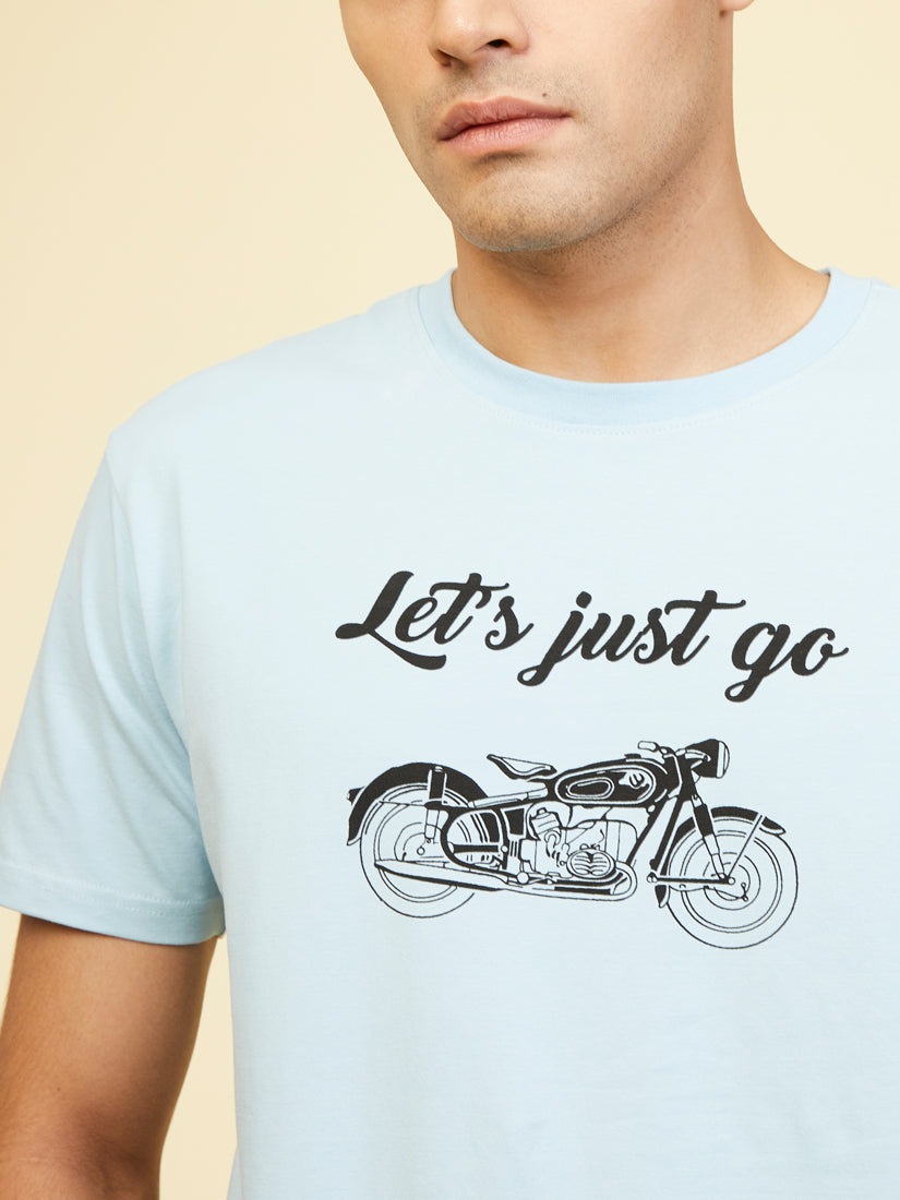 Lets Just Go - Cool Blue