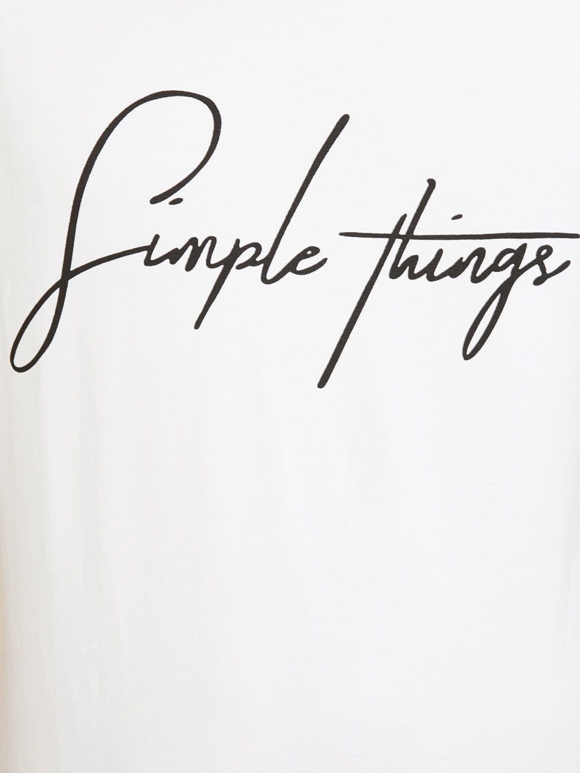 Simple Things - White