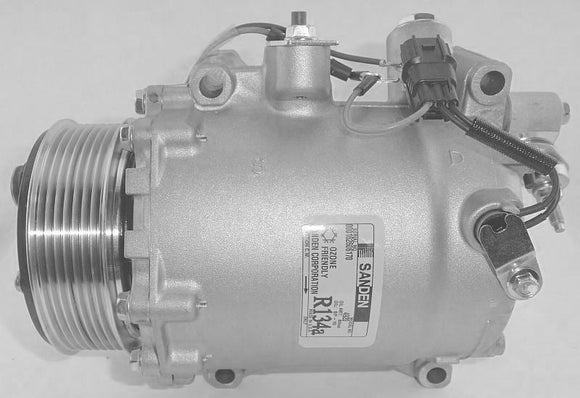AC Compressor Crv 2.4L Honda CRV 2007-2011 | Hunt Auto Parts | Canadian Car Body Parts Store | Painted & Non-painted | 14-1003NEW