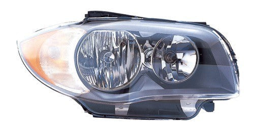 Head Lamp Passenger Side Halogen [Coupe 2008-2011] [Convertible From 2008- March 2011] High Quality BMW 1-Series | Hunt Auto Parts | Canadian Car Body Parts Store | Painted & Non-painted | BM2519118