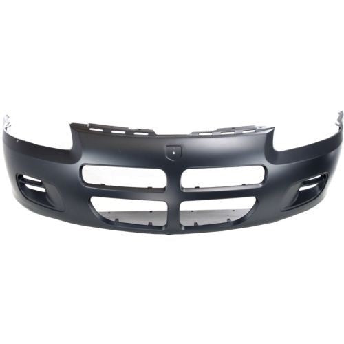 Bumper Front Primed Without Fog Lamp Sedan Dodge Stratus 2001-2003 | Hunt Auto Parts | Canadian Car Body Parts Store | Painted & Non-painted | CH1000324