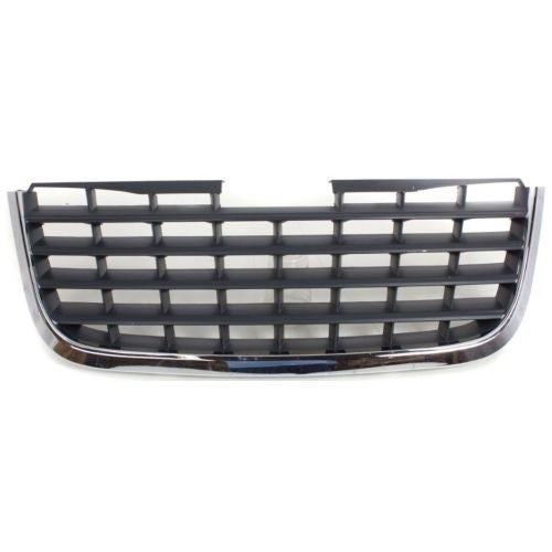 Grille Chrome/Dark Gray Touring/Ltd Chrysler Town & Country 2008-2010 | Hunt Auto Parts | Canadian Car Body Parts Store | Painted & Non-painted | CH1200309
