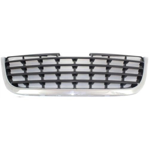 Grille Black Chrysler Town & Country 2008-2010 | Hunt Auto Parts | Canadian Car Body Parts Store | Painted & Non-painted | CH1200322