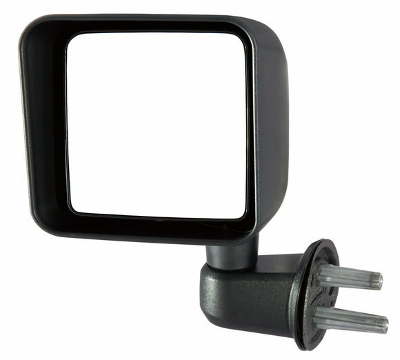 Door Mirror Manual Driver Side Jeep Wrangler 2007-2017 | Hunt Auto Parts | Canadian Car Body Parts Store | Painted & Non-painted | CH1320271