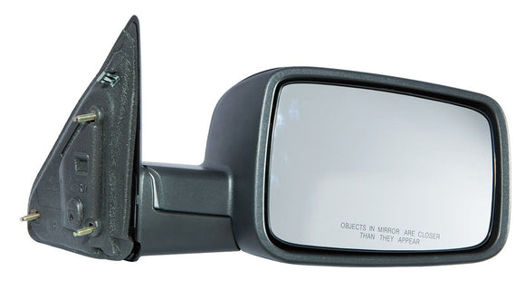 Door Mirror Manual Passenger Side Without Tow Textured Dodge Ram 2009-2014 | Hunt Auto Parts | Canadian Car Body Parts Store | Painted & Non-painted | CH1321308