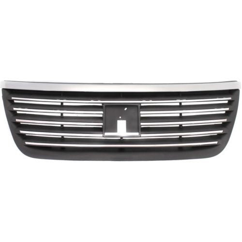 Grille Sedan Dark Gray With Chrome Moulding Saturn Ion 2005-2007 | Hunt Auto Parts | Canadian Car Body Parts Store | Painted & Non-painted | GM1200602