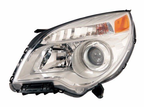 Head Lamp Driver Side Ltz Mdl High Quality Chevrolet Equinox 2010-2015 | Hunt Auto Parts | Canadian Car Body Parts Store | Painted & Non-painted | GM2502352