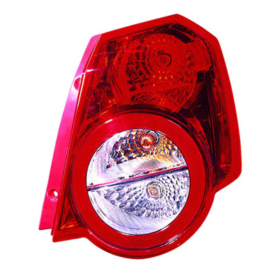 Tail Lamp Passenger Side High Quality Chevrolet Aveo 5 2009-2011 | Hunt Auto Parts | Canadian Car Body Parts Store | Painted & Non-painted | GM2801246