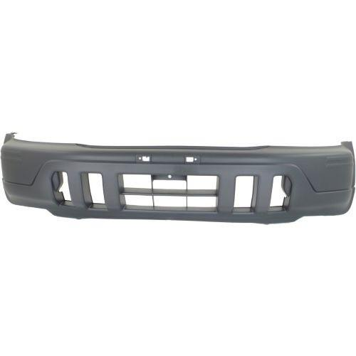 Bumper Front Textured Grey Honda CRV 1997-2001 | Hunt Auto Parts | Canadian Car Body Parts Store | Painted & Non-painted | HO1000177