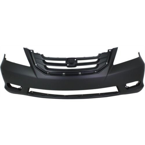 Bumper Front Primed Touring Models (With Fog Lamp Hole) Honda Odyssey 2008-2010 | Hunt Auto Parts | Canadian Car Body Parts Store | Painted & Non-painted | HO1000258