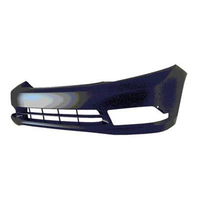 Bumper Front Primed Sedan With Fog Lamp Hole Japan Builte Honda Civic 2012 | Hunt Auto Parts | Canadian Car Body Parts Store | Painted & Non-painted | HO1000287