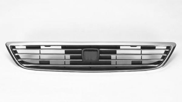 Grille Chrome/Black Honda Odyssey 1995-1997 | Hunt Auto Parts | Canadian Car Body Parts Store | Painted & Non-painted | HO1200137