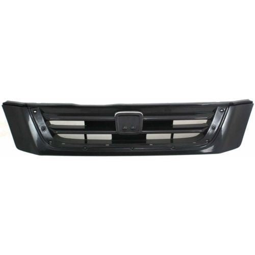 Grille Used With Chrome Moulding Honda CRV 1997-2001 | Hunt Auto Parts | Canadian Car Body Parts Store | Painted & Non-painted | HO1200138
