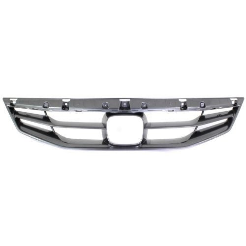 Grille Black Coupe Honda Accord 2011-2012 | Hunt Auto Parts | Canadian Car Body Parts Store | Painted & Non-painted | HO1200202