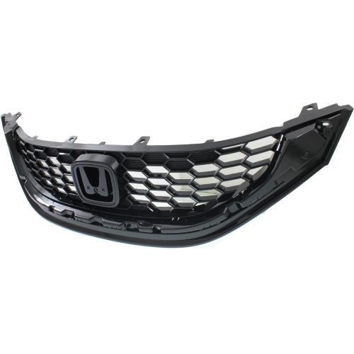 Grille Sedan 2.4L Same As 1.8L Ex/Ex-L/Ex Navi/Ex-L Navi Honda Civic 2013-2014 | Hunt Auto Parts | Canadian Car Body Parts Store | Painted & Non-painted | HO1200218