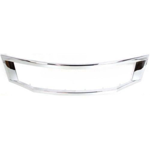 Grille Moulding Chrome Sedan Honda Accord 2008-2010 | Hunt Auto Parts | Canadian Car Body Parts Store | Painted & Non-painted | HO1202104
