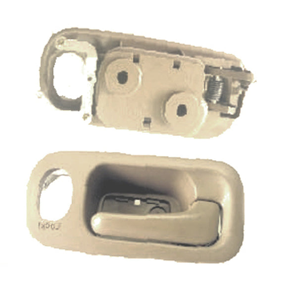 Door Handle Inner Front Passenger Side Beige Honda CRV 2005-2006 | Hunt Auto Parts | Canadian Car Body Parts Store | Painted & Non-painted | HO1353117