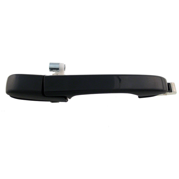 Door Handle Outer Rear Passenger Side (Smooth Black) Honda CRV 2002-2006 | Hunt Auto Parts | Canadian Car Body Parts Store | Painted & Non-painted | HO1521109