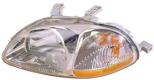 Head Lamp Driver Side High Quality Honda Civic 1996-1998 | Hunt Auto Parts | Canadian Car Body Parts Store | Painted & Non-painted | HO2502110