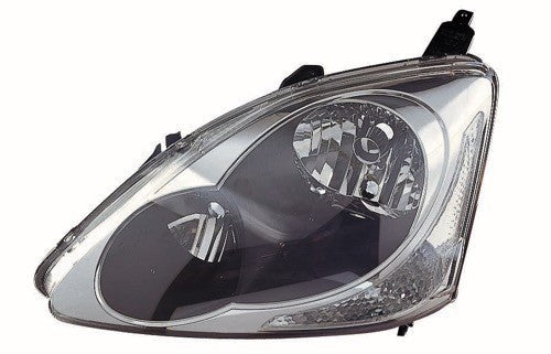 Head Lamp Driver Side Hatchback High Quality Honda Civic 2004-2005 | Hunt Auto Parts | Canadian Car Body Parts Store | Painted & Non-painted | HO2502122
