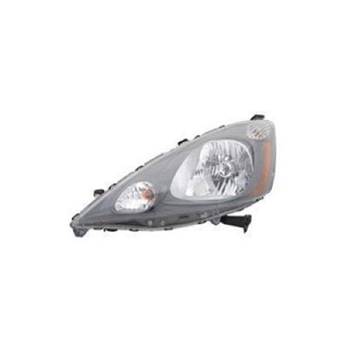 Head Lamp Driver Side Base Model High Quality Honda Fit 2009-2014 | Hunt Auto Parts | Canadian Car Body Parts Store | Painted & Non-painted | HO2502138