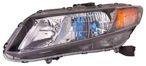 Head Lamp Driver Side Hybrid High Quality Honda Civic 2012 | Hunt Auto Parts | Canadian Car Body Parts Store | Painted & Non-painted | HO2502145