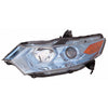 Head Lamp Driver Side High Quality Honda Insight 2012-2014 | Hunt Auto Parts | Canadian Car Body Parts Store | Painted & Non-painted | HO2502149