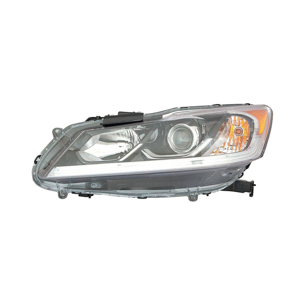 Head Lamp Driver Side Sedan Halogen Lx High Quality Honda Accord 2016 | Hunt Auto Parts | Canadian Car Body Parts Store | Painted & Non-painted | HO2502168