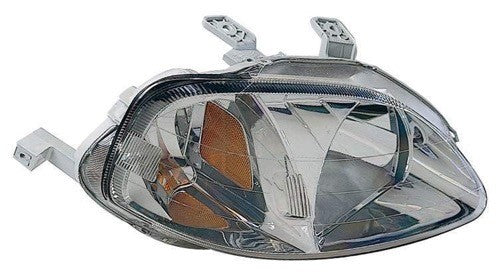 Head Lamp Passenger Side High Quality Honda Civic 1999-2000 | Hunt Auto Parts | Canadian Car Body Parts Store | Painted & Non-painted | HO2503113