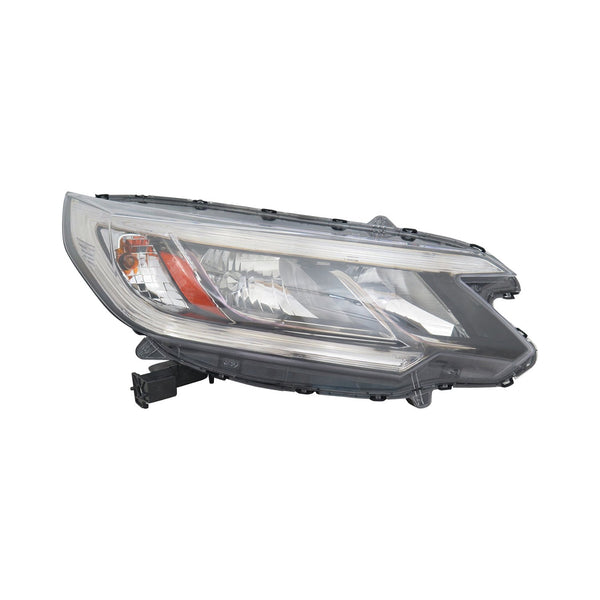 Head Lamp Passenger Side Halogen Without Led Drl Lx High Quality Honda CRV 2015-2016 | Hunt Auto Parts | Canadian Car Body Parts Store | Painted & Non-painted | HO2503162